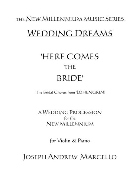 Here Comes the Bride - for the New Millennium - Violin & Piano