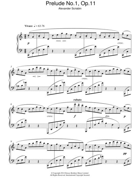 Prelude No.1, Op.11