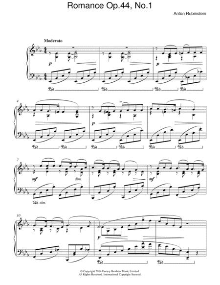 Romance, Op.44 No. 1