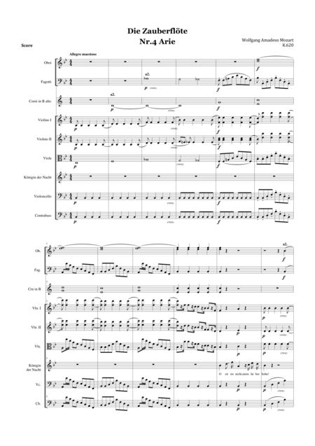 Die Zauberflote. Arie nr.4