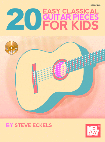 20 Easy Classical Guitar Pieces for Kids