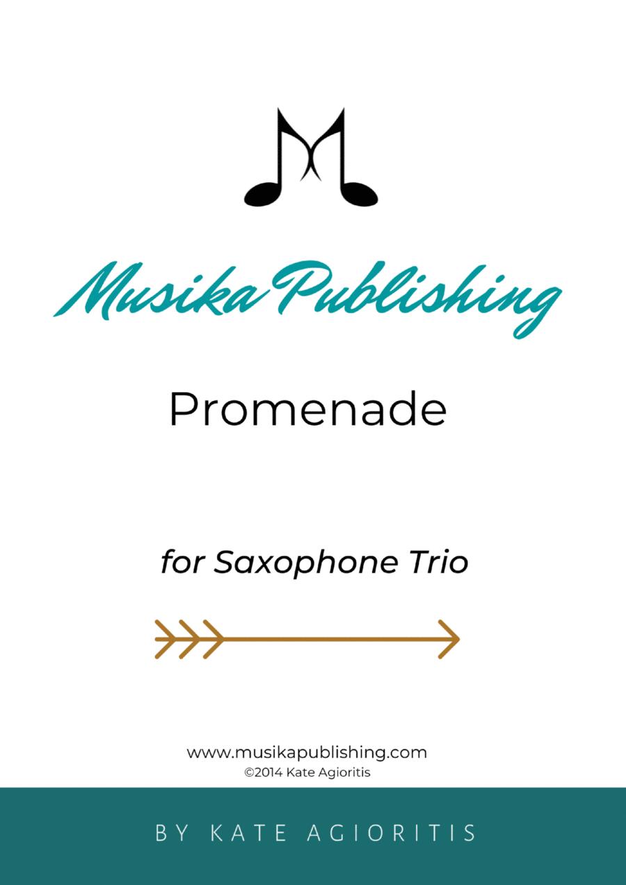Promenade - for Young Saxophone Trio