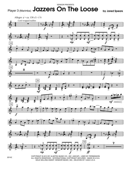 Jazzers On The Loose - Marimba