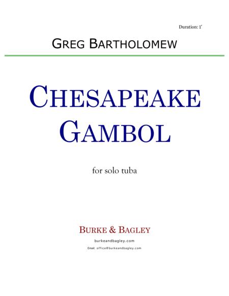 Chesapeake Gambol (tuba solo)
