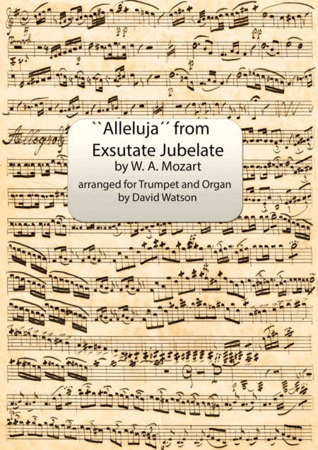 Alleluja from ``Exsulate, Jubilate.´´