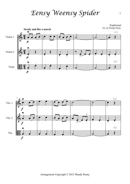 Nursery Rhymes for Two Violins and Viola Book 1