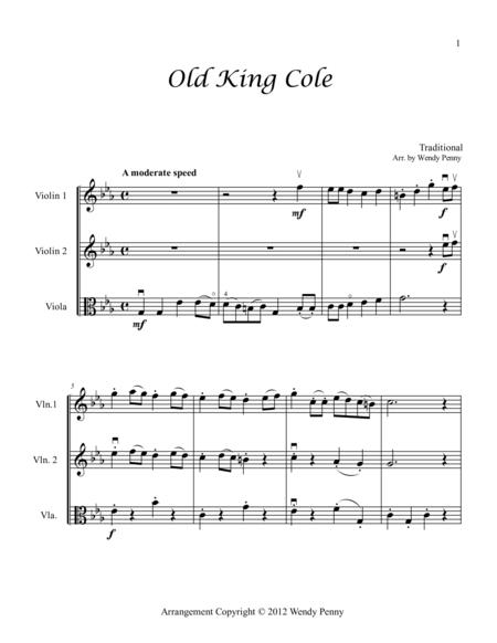 Nursery Rhymes for Two Violins and Viola Book 3