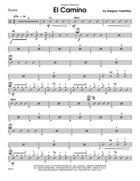 El Camino - Drums
