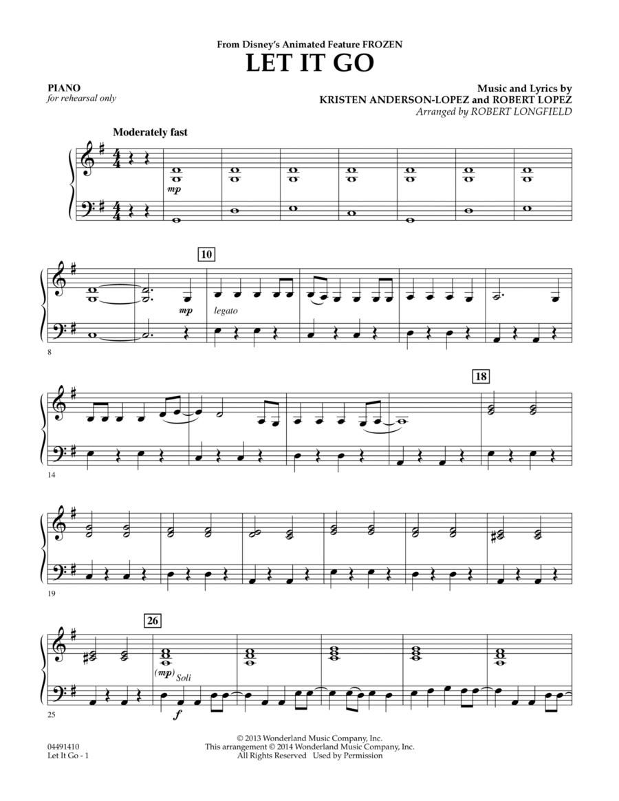 Let It Go - Piano