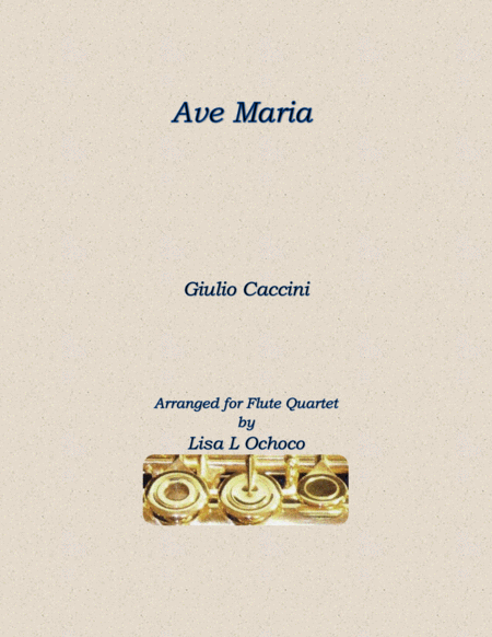 Ave Maria for Flute Quartet