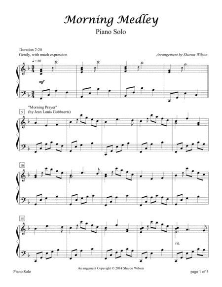 Morning Medley (Piano Solo)