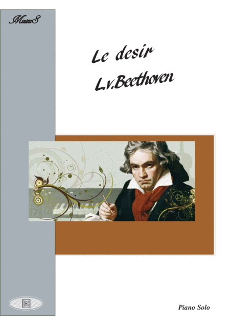 Beethoven Valse le desir  easy piano solo