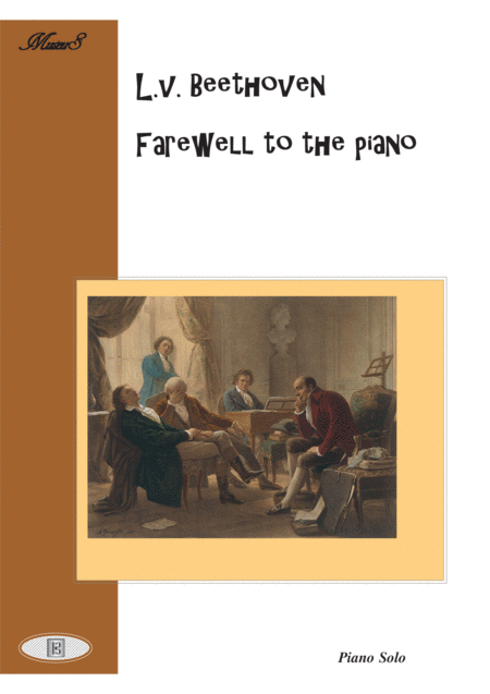 Beethoven Farewell to the piano easy piano solo
