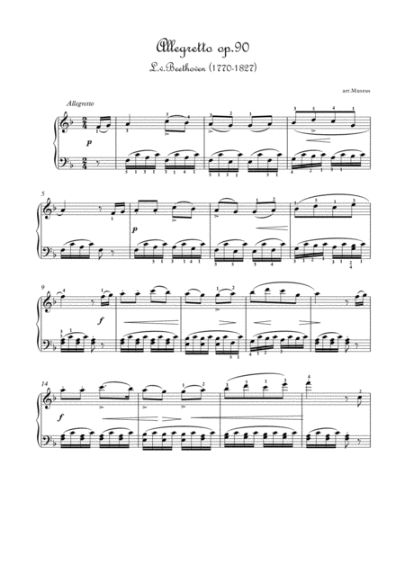 Masterpieces for easy piano 2 by L.v.Beethoven  and F.Mendelssohn