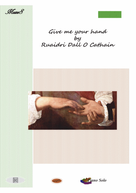 Give me your hand Romantic piano solo  Ruaidri Dall O Cathain