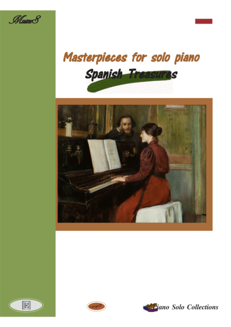 Masterpieces for solo Piano Spanish treasures