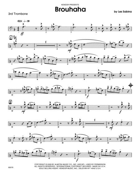 Brouhaha - 3rd Trombone