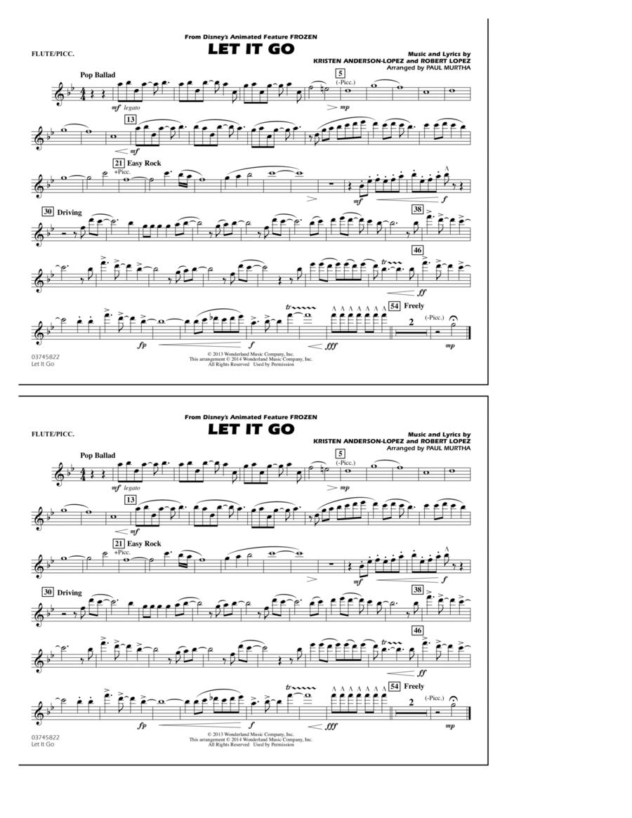 Let It Go - Flute/Piccolo