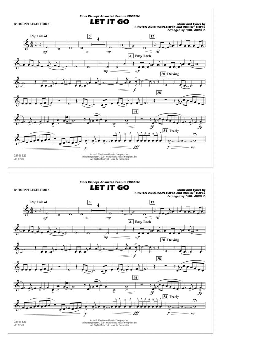 Let It Go - Bb Horn/Flugelhorn