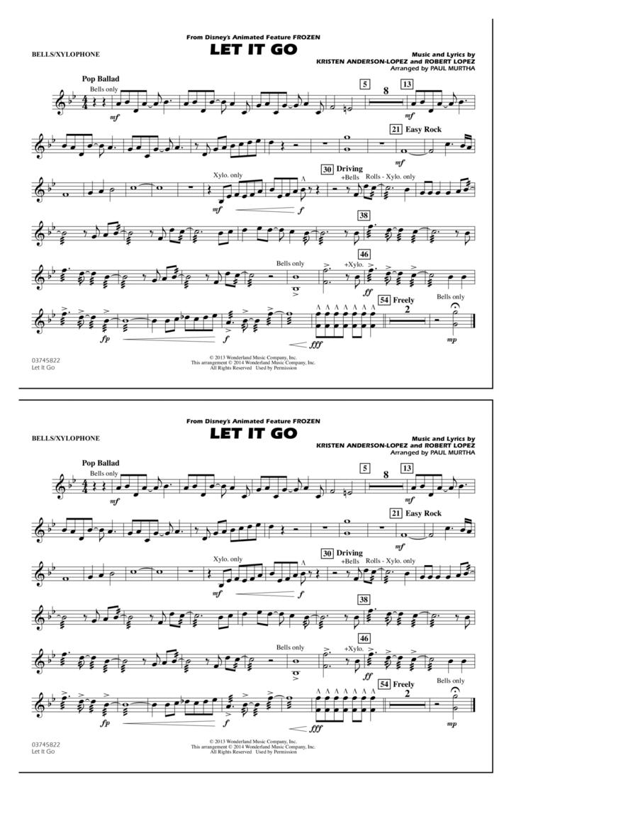 Let It Go - Bells/Xylophone