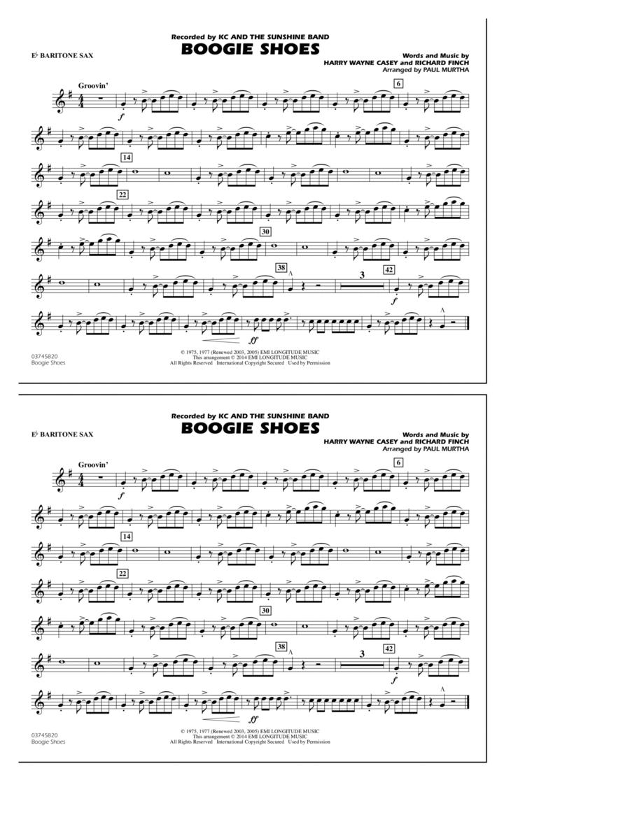 Boogie Shoes - Eb Baritone Sax