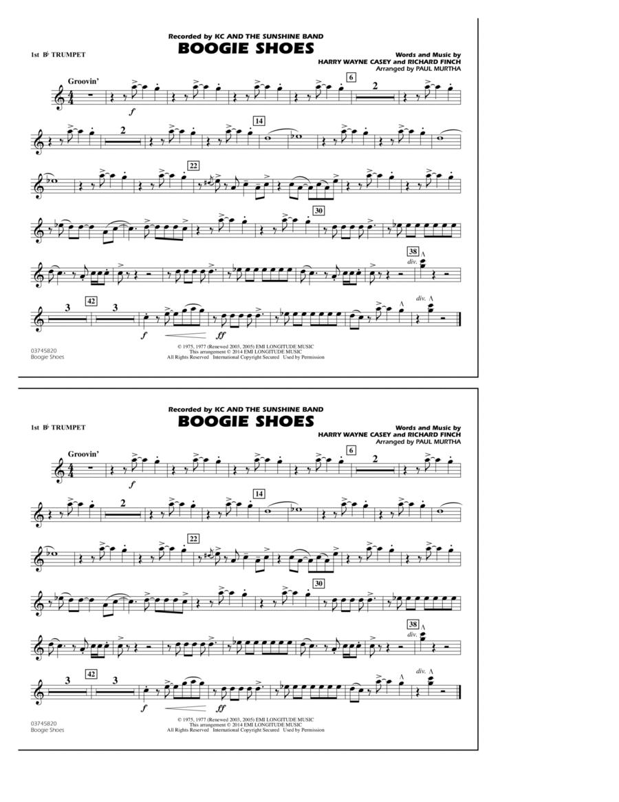 Boogie Shoes - 1st Bb Trumpet