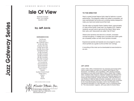 Isle Of View - Full Score