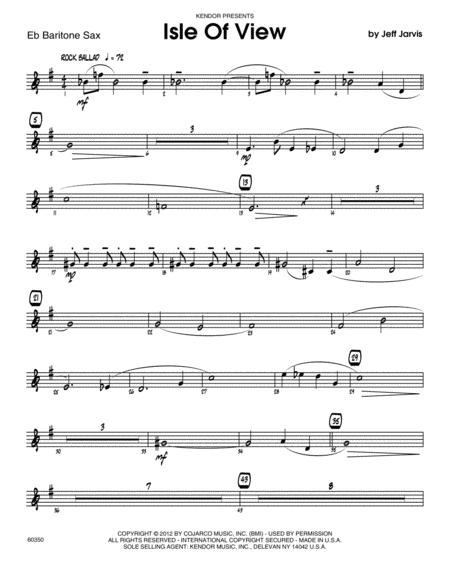 Isle Of View - Eb Baritone Saxophone