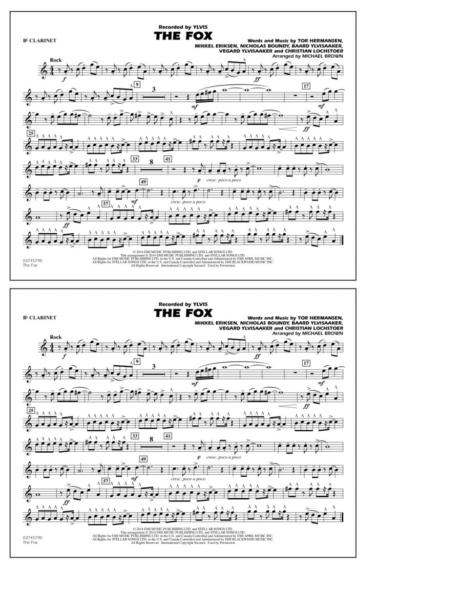 The Fox - Bb Clarinet