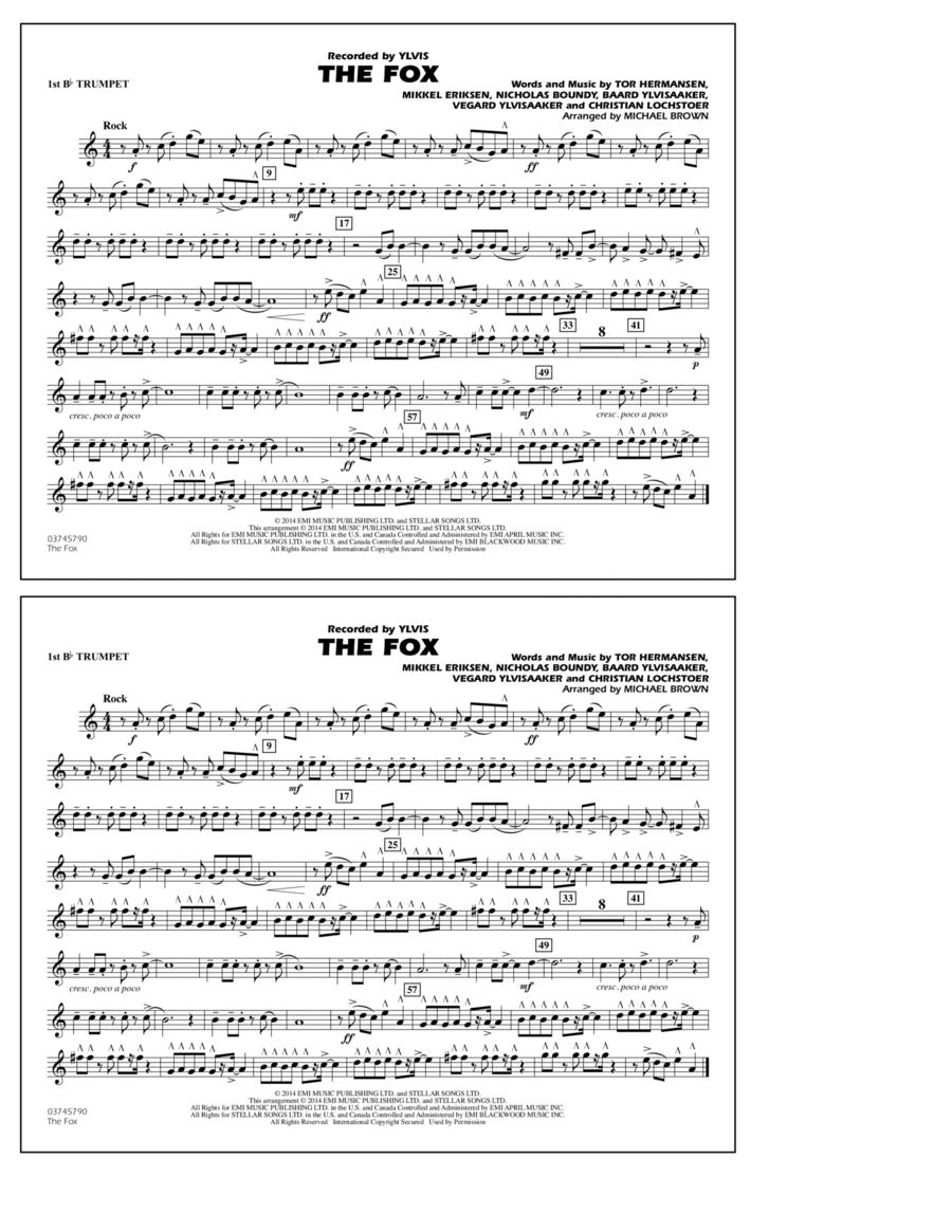 The Fox - 1st Bb Trumpet