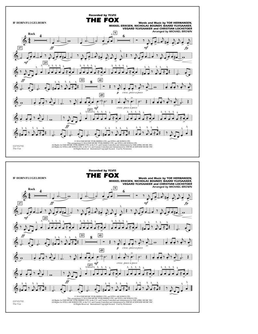 The Fox - Bb Horn/Flugelhorn