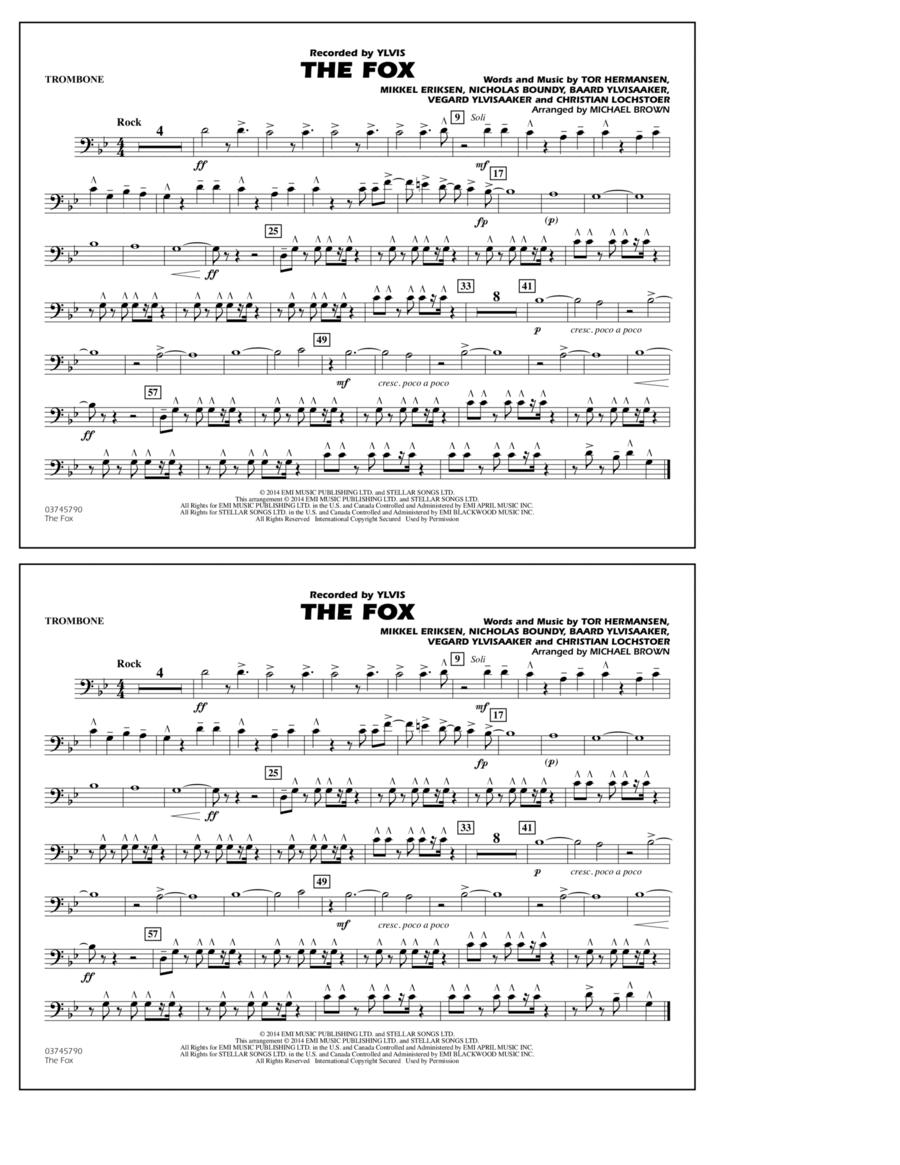 The Fox - Trombone