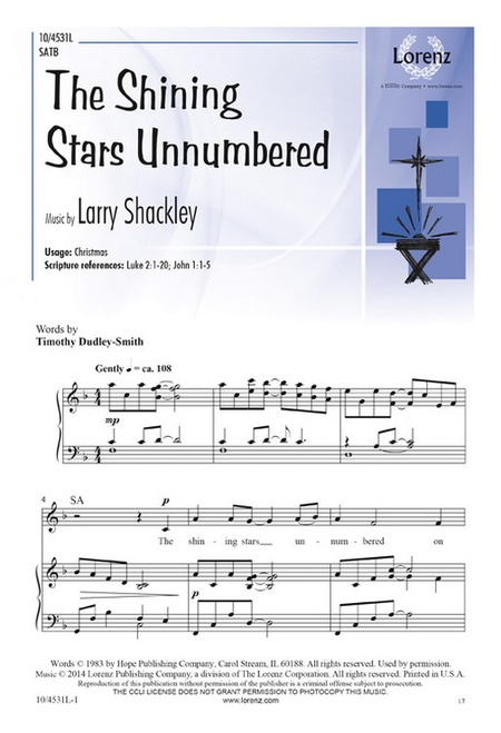 The Shining Stars Unnumbered