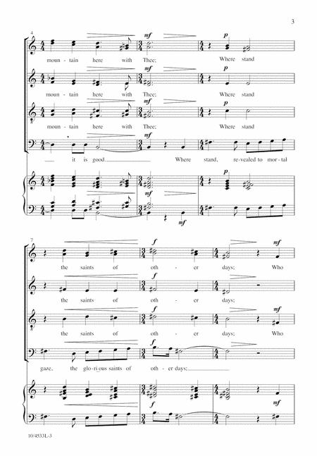 Transfiguration Hymn