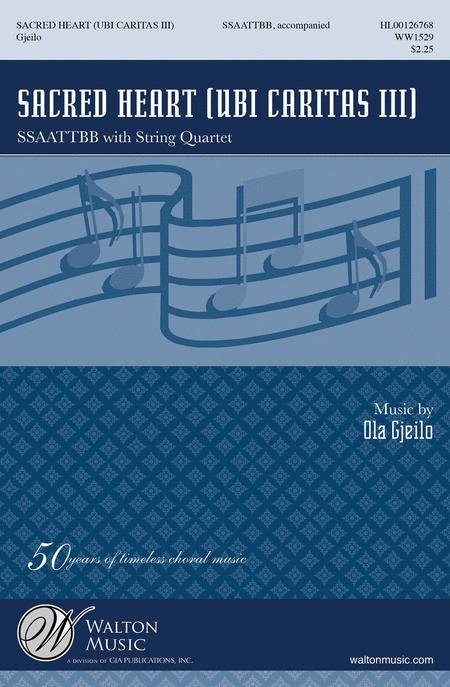 Sacred Heart (Vocal Score)