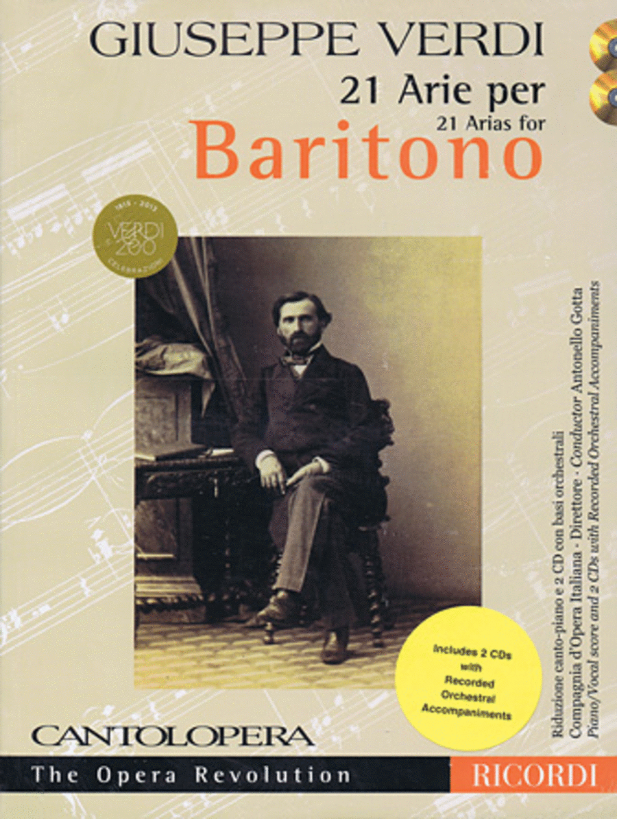 Verdi: 21 Arias for Baritone