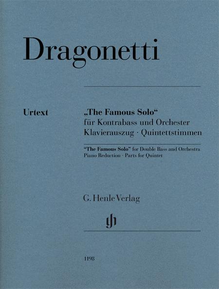 double bass solo sheet music pdf