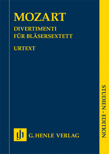 Divertimenti for 2 Oboes, 2 Horns and 2 Bassoons