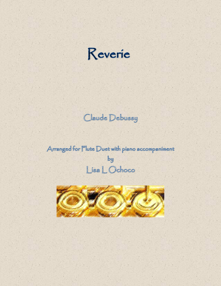 Reverie for Flute Duet and Piano
