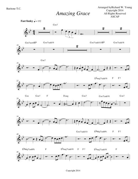 Amazing Grace- Smooth Jazz Euphonium-Baritone T.C.