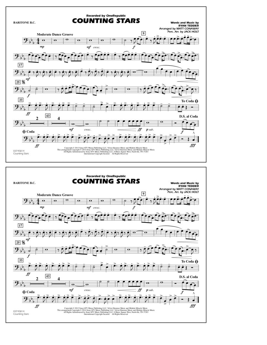 Counting Stars - Baritone B.C.