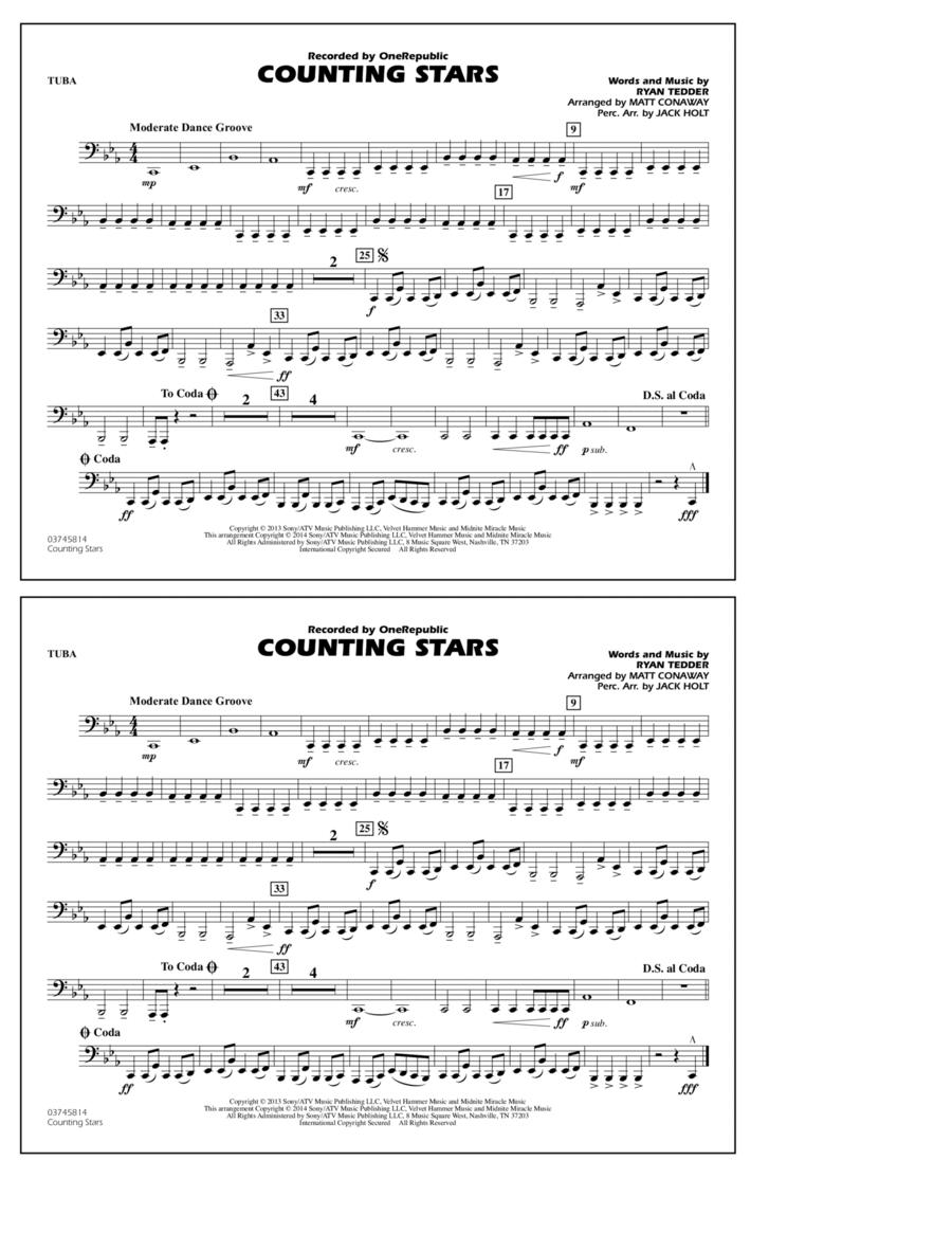 Counting Stars - Tuba