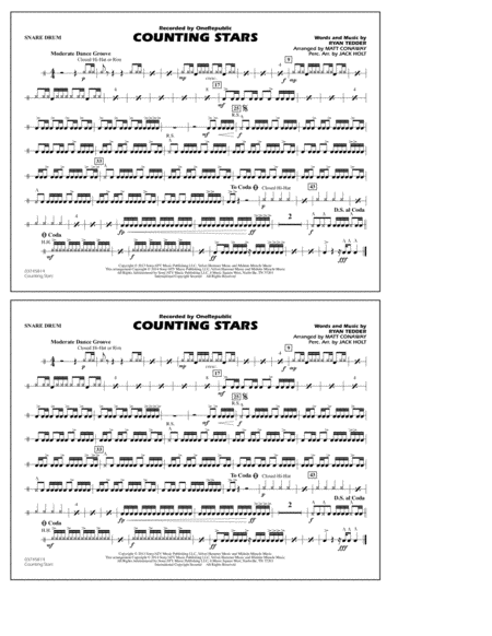 Drum drum chords for counting stars : Counting Stars Acoustic Guitar Sheet Music - playalong beginner ...
