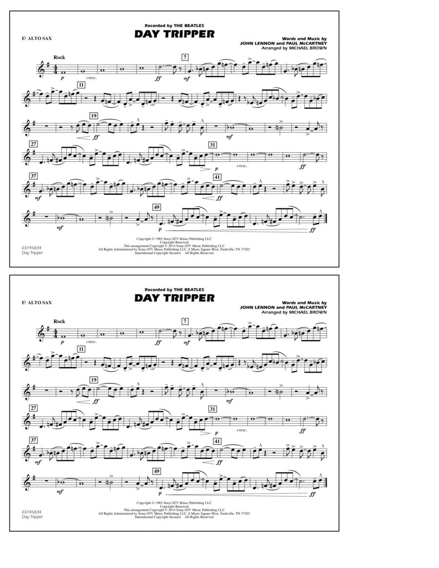 Day Tripper - Eb Alto Sax