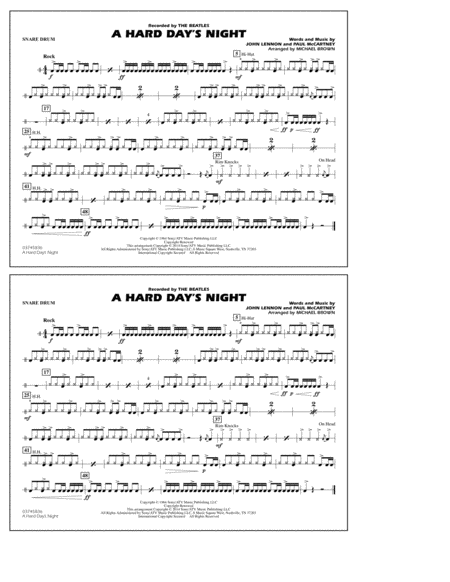 A Hard Day's Night - Snare Drum