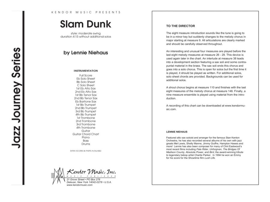 Slam Dunk - Full Score