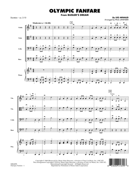 Olympic Fanfare (Bugler's Dream) - Conductor Score (Full Score)