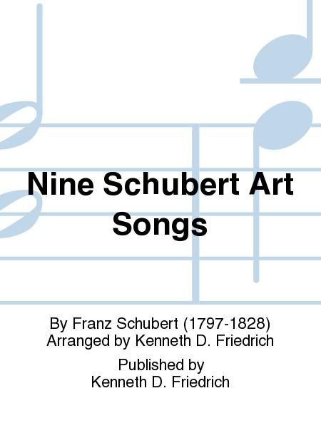 Art songs and schubert