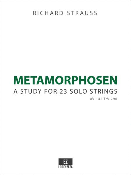 Metamorphosen - Study for 23 Solo Strings
