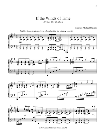 If the Winds of Time